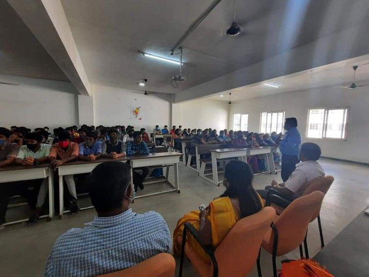 EVM-VVPAT Demonstration Awareness - Sri Venkateshwaraa College of Engineering and Technology,  Puducherry